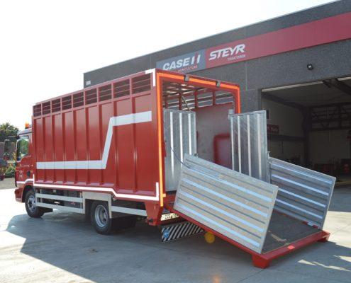 metaalconstructie vrachtwagen 1